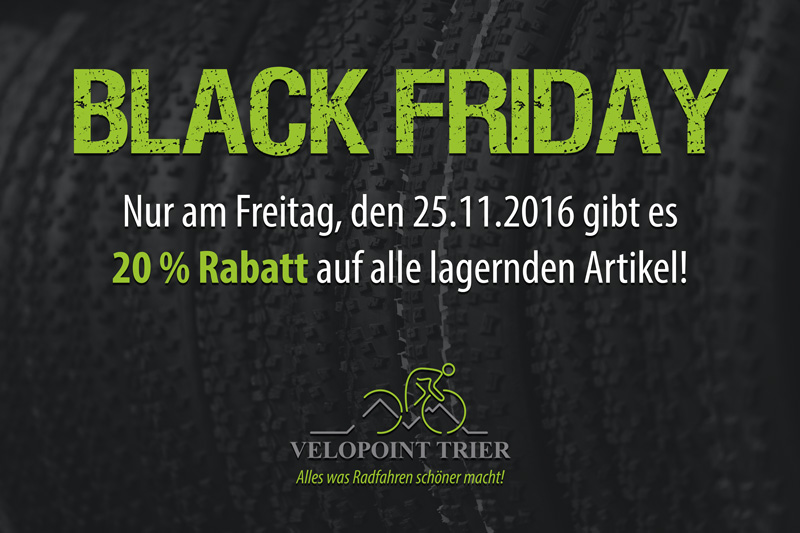 Velopoint Trier - Black Friday 2016