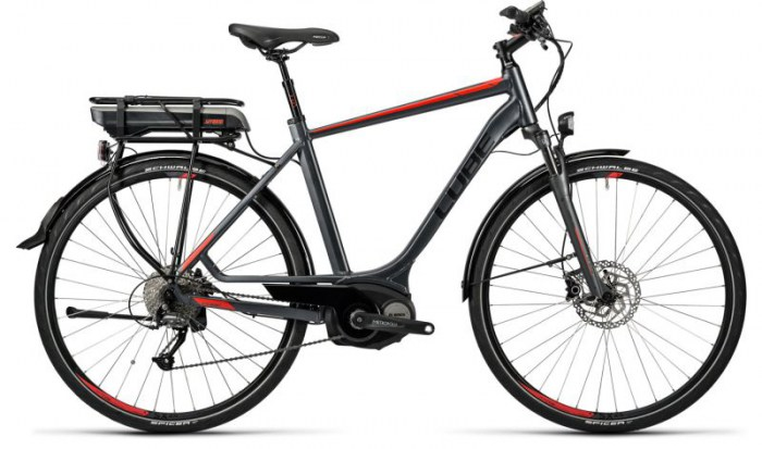 Cube Touring Hybrid 400 grey´n´red 2016 54 cm