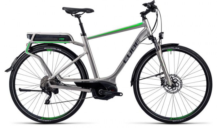 Cube Touring Hybrid Pro 500 silver´n´flashgreen 2016  58 cm