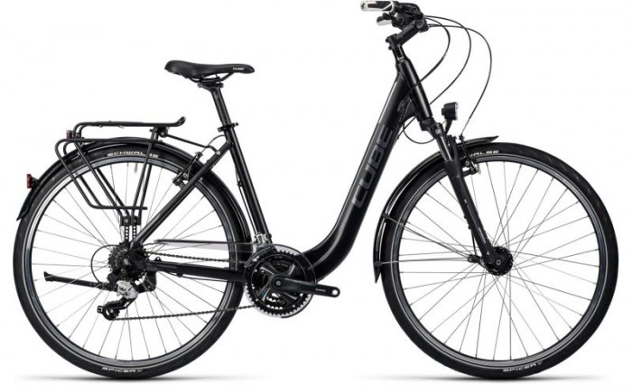 Cube Touring black grey white 2016 Easy Entry 50 cm