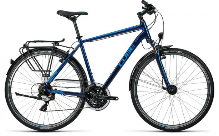 Cube Touring midnight blue metallic 2016 58 cm