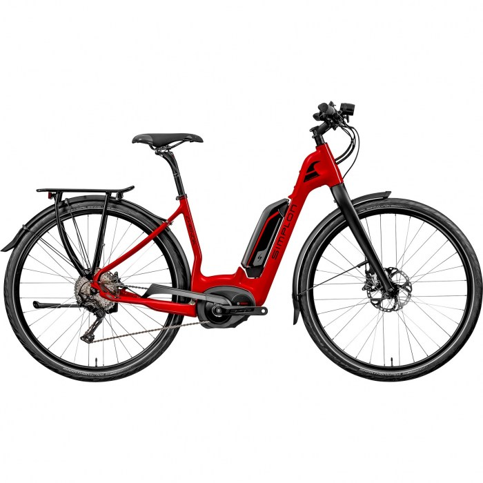 Simplon Chenoa UNI, 40, Gr. S (40), red-black - 20204